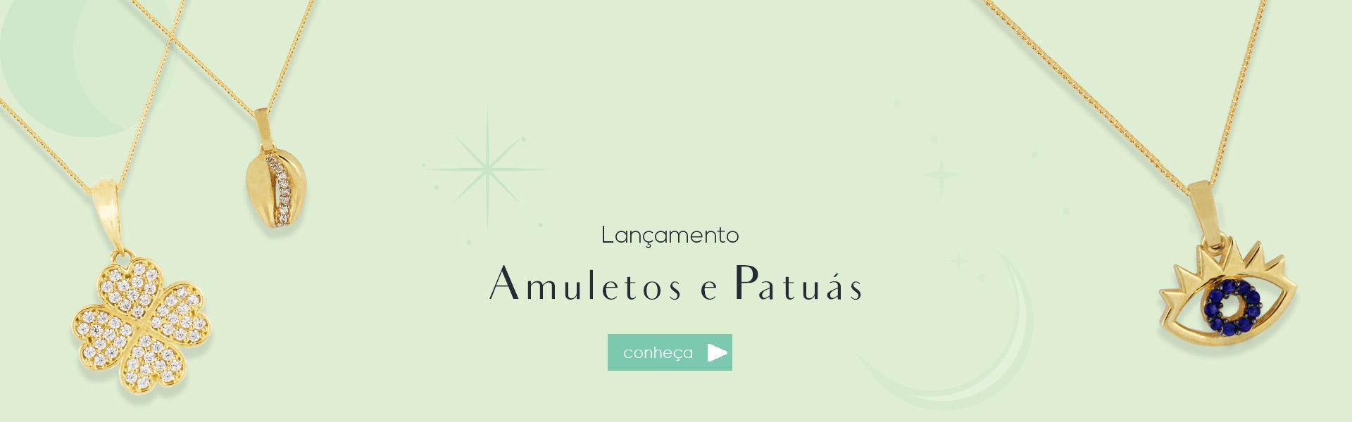 Lançamento Amuletos e Patuás