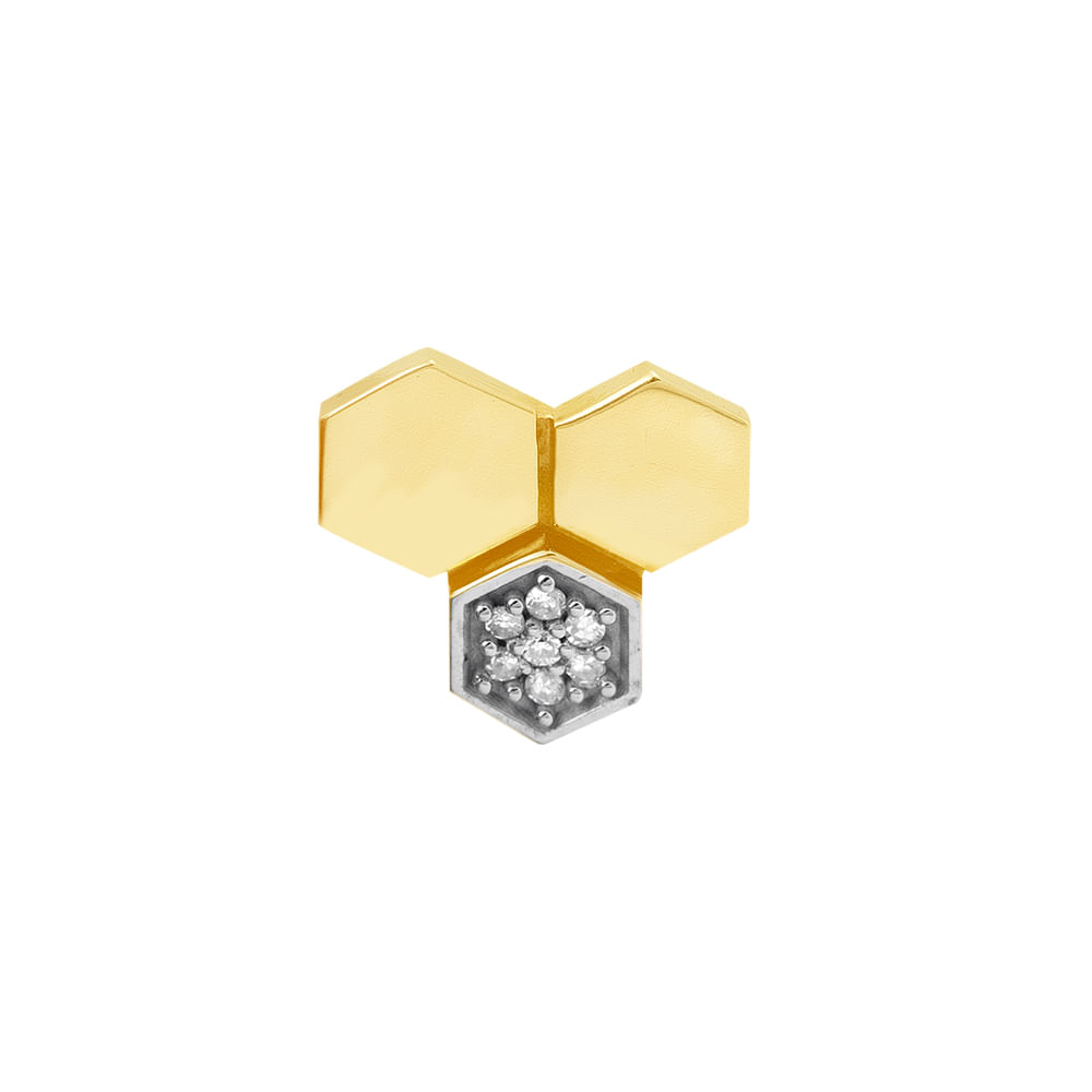 imgprincipalpingenteatthetophexagonodeouro18kcomdiamantes