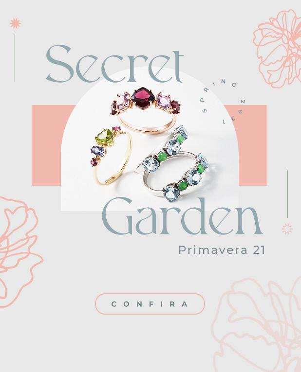 Coleção Secret Garden - mobile